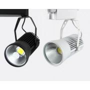 Proiector pe sina cu LED 20W 6400K negru - TG