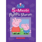 Five-Minute Peppa Stories (Peppa Pig) by Neville Astley