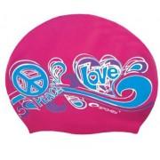 STYLO plavecká čepice růžová Spokey