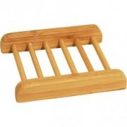 Tvålfat med galler, bambu, för naturtvålar