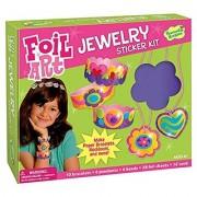 Peaceable Kingdom Sweet Valentine Foil Art Sticker Jewelry Kit
