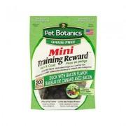 Pet Botanics Mini Training Rewards Grain Free Duck & Bacon Flavor Dog Treats, 4-oz bag
