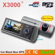 Camera Video Auto Duala X3000 cu Inregistrare HD