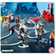 Playmobil Firefighters Water with Pump