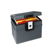 Caseta antifoc si antiumezeala pentru documente si valori Planet Safe 2037, 410 x 324 x 330 mm