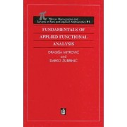 Fundamentals of Applied Functional Analysis by Dragisa Mitrovic