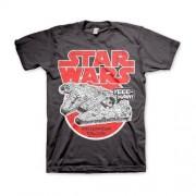Star Wars T-shirt męski Millenium Falcon Star Wars