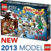 Lego New City Town Advent Calendar for Christmas Xmas 2013 24 Gift Toys [60024] Fast Shipping Ship Worldwide From Hengheng Shop by N/A