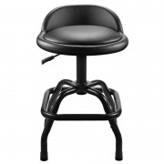 Winplus Ultra Cushioned Shop Stool Adjustable Height