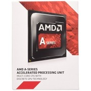 AMD A10 X4 7800 Box FM2+ Processore, Nero