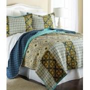 3-Piece Textured Reversible Quilt Set