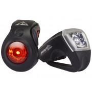Red Cycling Products RCP Urban LED USB - Kit éclairage vélo - noir Sets de lampes