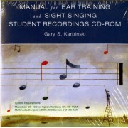 Sight Singing and Ear Training by Gary S. Karpinski