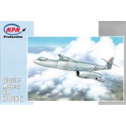 Modellino Aereo Gloster Meteor F.8 (soggetto) Scala 1:72