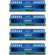 Kit Memorie Patriot Viper 3 Sapphire Blue 4x8GB DDR3 1600MHz CL9 Quad Channel
