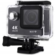 Cámara Deportiva H9 1080P 4K/30fps 30M Waterproof WiFi Action Sport Video Camera US PLUG-Negro