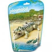 Комплект Плеймобил 6644 - Алигатор с малки бебета - Playmobil, 291196