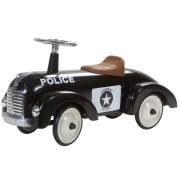 RETRO ROLLER Retro Roller детска полицейска кола за бутане, цвят черен