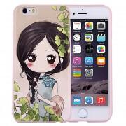 Husa silicon TPU Apple iPhone 6 Little Girl