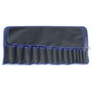 Werkzeug-Rolltasche Polyester, schwarz 670 x 340 mm