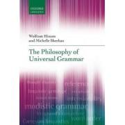 The Philosophy of Universal Grammar by Wolfram Hinzen