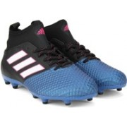 Adidas ACE 17.3 PRIMEMESH FG Football Shoes(Black, Blue)