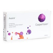 Avaira CooperVision (3 lentilles)