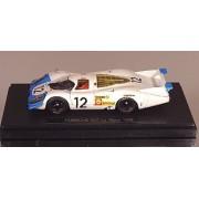 EBBRO 1/43 Porsche 917 Long Tail Le Mans 1969 # 12 White / Blue (japan import)
