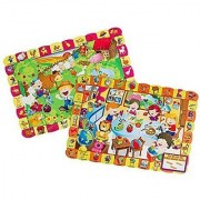 Sprogs - Giant Find and Match Floor Puzzle Set -2 Pack Puzzles are 30 x 20 In the Classroom & At the Farm