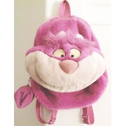Disney's Animated ALICE IN WONDERLAND Movie Cheshire Cat Backpack Plush Head Bag