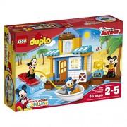 LEGO DUPLO Disney 10827 Mickey & Friends Beach House Building Kit (48 Piece) by LEGO