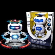 Baby Toy, Hatop Electronic Walking Dancing Smart Space Robot Astronaut Kids Music Light Toys
