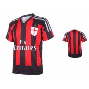 AC Milan Voetbalshirt Thuis Eigen Naam Bedrukken 2015-2016