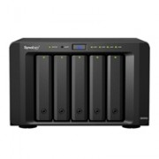 NAS SYNOLOGY DS1515+ 5 BAHIAS/2.4GHZ/2GB DDR3/LAN GIGABITX4/USBX6/HASTA 50TB Y CON UNIDADDES DE EXPANSION X2 HASTA 150TB/HOT-SWAP