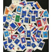 The Complete Set Of Bicentennial State Flags ~ Each States Flag Included! (Total 50 Stamps) (Scott # 1682a) Stamp Collecting Fun!