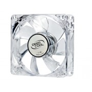 Deepcool XFAN 80mm Transparent Cooling Fan with Blue LED (PC)