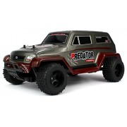 Velocity Toys Off Road Predator Suv Remote Control Rc Truck, High Performance Lithium Battery, Big Size 1:10 Scale Rtr W/ Working Spring Suspension
