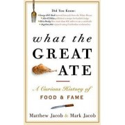What the Great Ate by Matthew Jacob