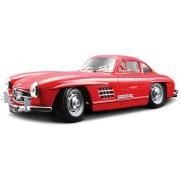 Bburago - Mercedes-Benz 300 SL (1954), color rojo (18-22023)