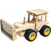 Red toolbox Houtwerk kit: bulldozer