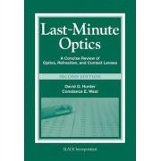 Last Minute Optics by David G. Hunter