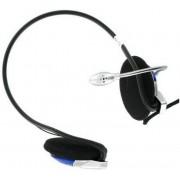 Casti 4World 02993, Stereo, cu microfon, 2m (Negru)
