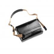 Brooks Barbican Shoulder Bag Leather black 2017 Messenger Bags & Kuriertaschen