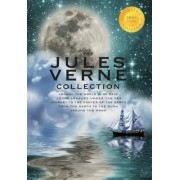 The Jules Verne Collection (5 Books in 1) Around the World in 80 Days, 20,000 Leagues Under the Sea, Journey to the Center of the Earth, from the Earth to the Moon, Around the Moon (1000 Copy Limited Edition) by Jules Verne