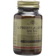 Solgar 500 mg L-Phenylalanine Vegetable Capsules - Pack of 50