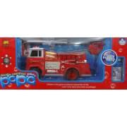 RC Távirányítós Tűzoltókocsi autó buborékfújóval - Papa No.R216