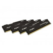 KINGSTON DIMM DDR4 32GB (4x8GB kit) 2666MHz HX426C15FBK4/32 HyperX Fury Black