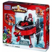 Buildable folding zord-2-in-1 building choose between classic Red Lion or cool fantasy vehicle-Building steps online a