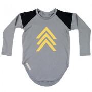 Bluza Arrow (unisex) - gri, 2-4 ani