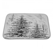 Gear New Landscapes Nature Plant Tree Forest Bath Mat/Rug GN-WF-BMAT1-2417-16613/GN-WF-BMAT1-3421-16613